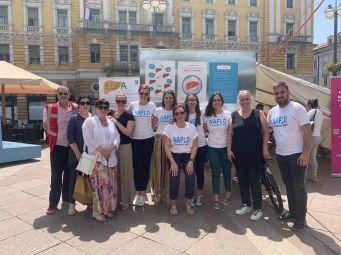 Prva javna akcija za masnu jetru u Hrvatskoj povodom Svjetskog dana nealkoholne masne bolesti jetre