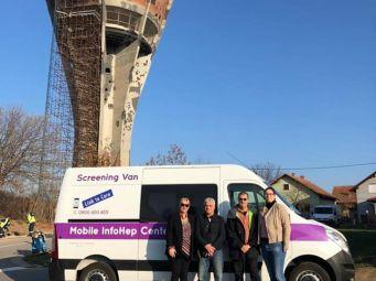 Mobilni InfoHep Centar na sjevero-istoku Hrvatske