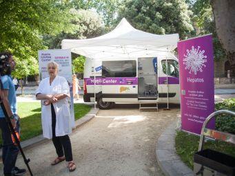 Mobilni InfoHep Centar na Danima volonterskog rada