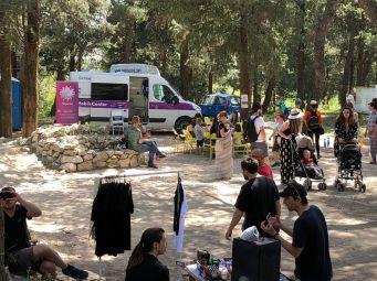 Mobilni InfoHep centar na Ego Free festivalu