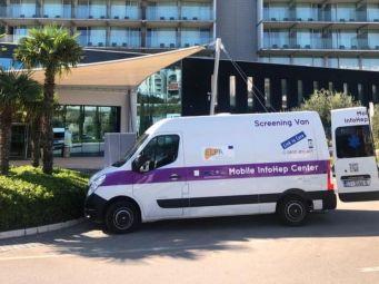 Mobilni InfoHep Centar predstavljen na 9. hrvatskom kongresu o infektivnim bolestima