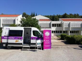 Mobilni InfoHep Centar na o. Korčuli