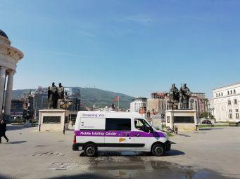 Mobilni InfoHep centar u Makedoniji