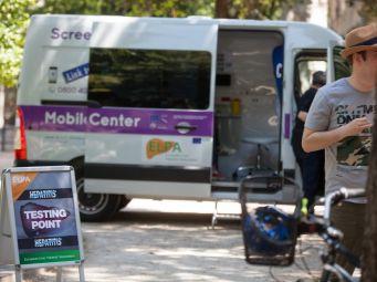 Mobilni InfoHep Centar ponovno na Danima volonterskog rada